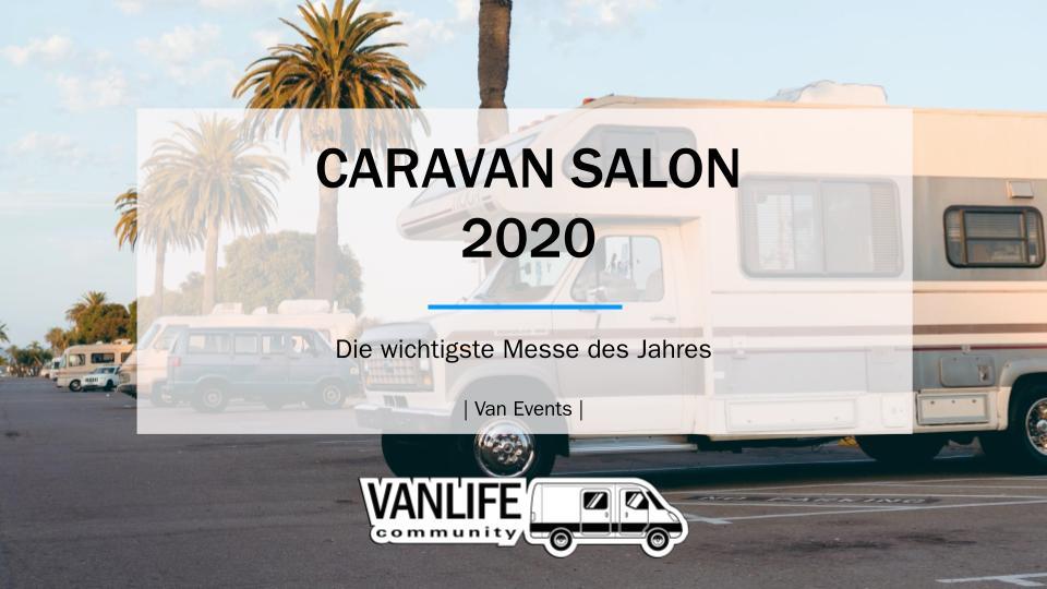 Caravan Salon 2020