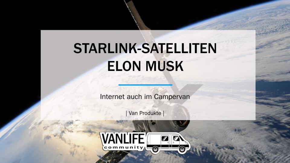 STARLINK-SATELLITEN VON ELON MUSK