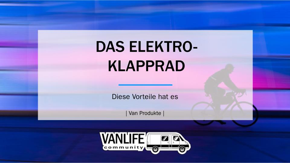 E-KLAPPRAD