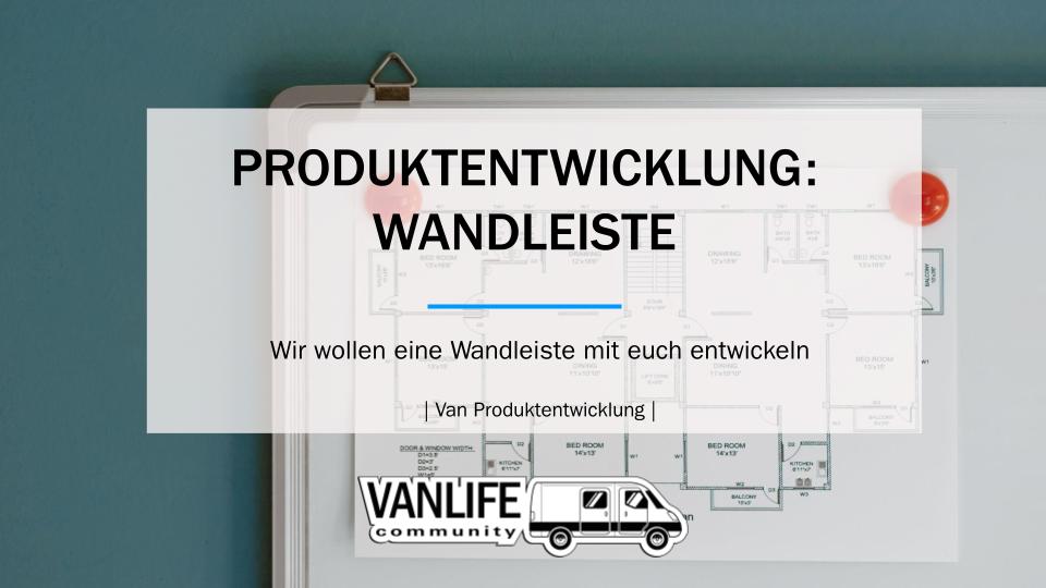 Produktentwicklung: Wandleiste